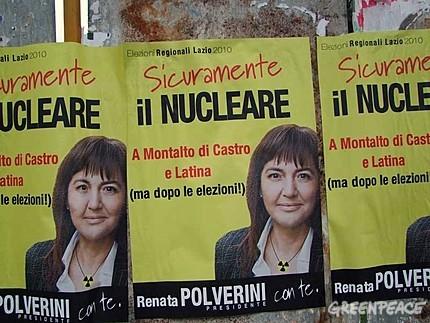 Polverini nucleare